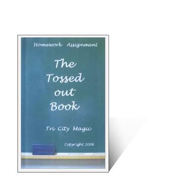 The Tossed Out Book (Second Edition) by Tri City Magic - Trick