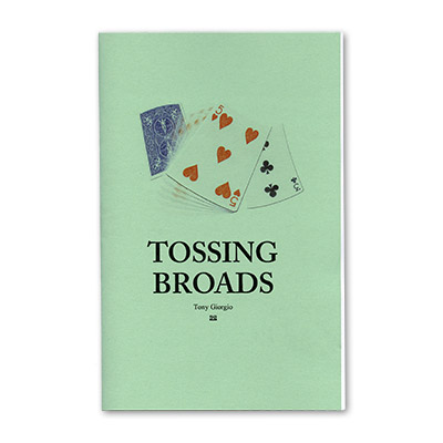 Tossing Broads by Tony Giorgio - Book