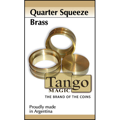 Quarter Squeeze Brass by Tango - Trick (B0012)