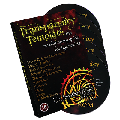 The Transparency Template by Jonathan Royale - Trick