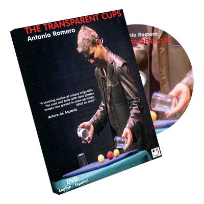 The Transparent Cups by Antonio Romero - DVD