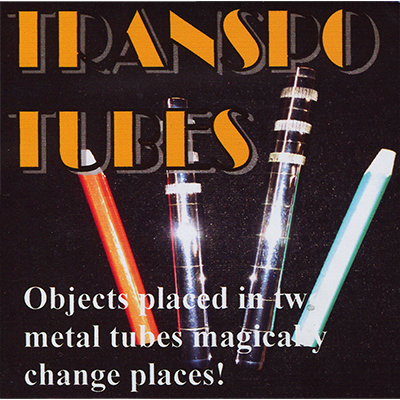 Transpo Tubes by Merlins Magic - Trick