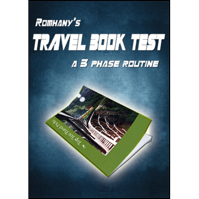 Romhany's Travel Book Test