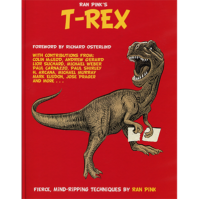 T-REX (Book&DVD) by Ran Pink - Book/DVD