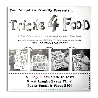 Tricks for Food trick Tom Vorjohan