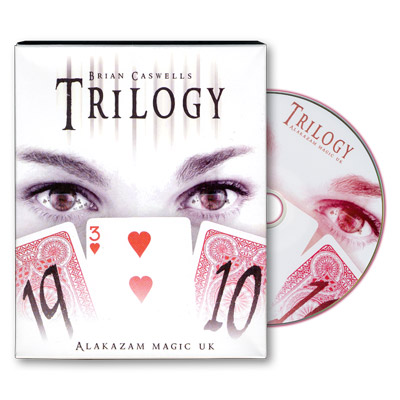 Trilogy version 2.0 (W/DVD) by Brian Caswells and Alakazam Magic - Trick