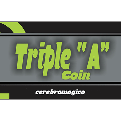Triple A Coin (Half) by Cerebro Magico - Trick