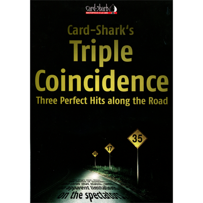 Triple Coincidence (Parlour Size Red) by Card-Shark - Trick