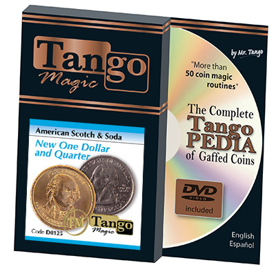 American Scotch & Soda (D0125)(TRADITIONAL w/DVD) by Tango Magic - Tricks