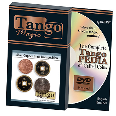 Silver Copper Brass Transposition (w/DVD)(CH002) Tango