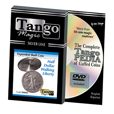 Tango Silver Line Expanded Shell Walking Liberty (w|DVD) (D0005)