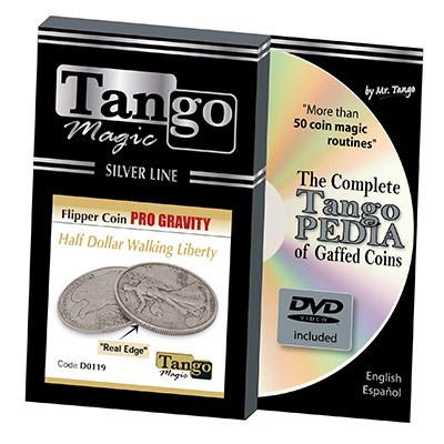 Tango Silver Line Flipper Pro Gravity Walking Liberty (w|DVD) (D0119)