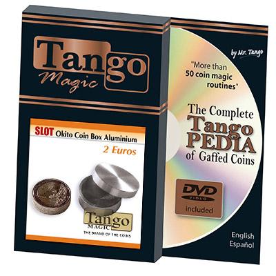 Slot Okito Coin Box  2 Euro Aluminum by Tango - Trick (A0013)