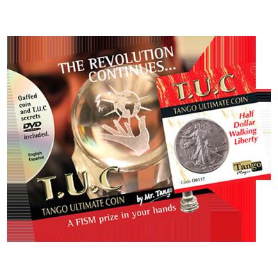 Tango Silver Line TUC (D0117) Walking Liberty Half Dollar (con DVD) - Tango