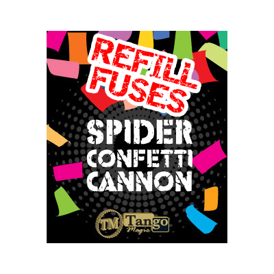 Spider Fire (Refill Fuses for Spider Confetti Cannons - 40 units) by Tango - Trick