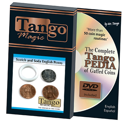 Scotch And Soda English Penny (w/DVD)(D0049) by Tango -  Trick