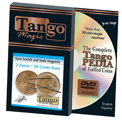 Scotch and Soda 2 Euro and 50 cent Euro (w/DVD) by Tango -Trick (E0077)