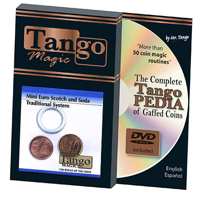 Mini Euro Scotch & Soda Traditional System (5 cent & 10 cent w/DVD) Tango-Trick (E0030)