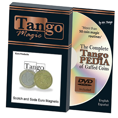 Scotch And Soda Euro (Magnetic w/DVD)E0029 by Tango - Trick