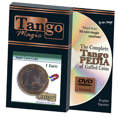 Steel Core Coin 1 Euro by Tango - Trick (E0023)