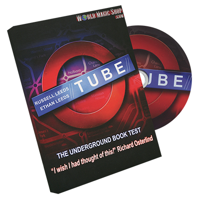 Tube (Stage size)(Tube & DVD) by Russell and Ethan Leeds - Trick