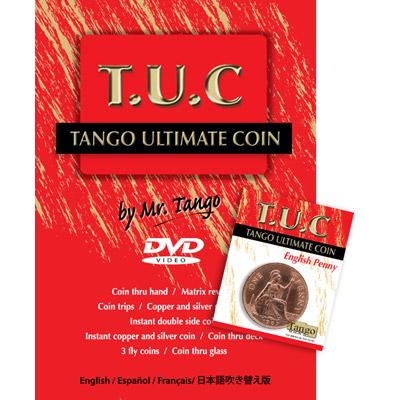 Tango Ultimate Coin w|DVD(T.U.C)(D0111) English Penny