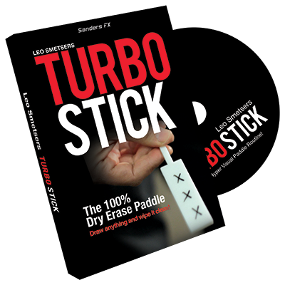 Turbo Stick (Props and DVD) by Richard Sanders - DVD