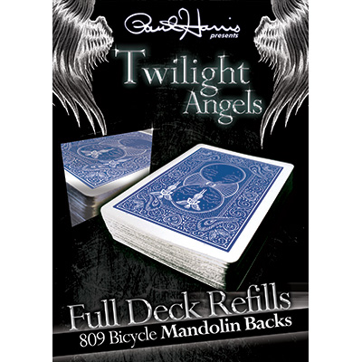 Paul Harris Presents Twilight Angel Full Deck  (Blue Mandolin) by Paul Harris
