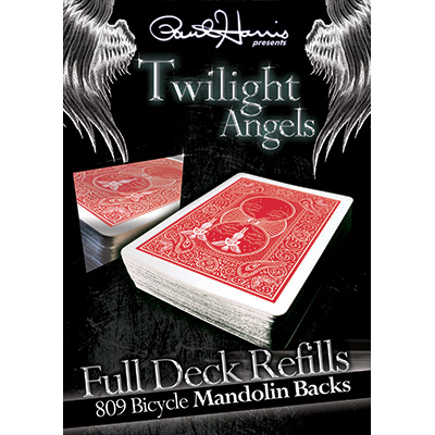 Paul Harris Presents Twilight Angel Full Deck (Red Mandolin) by Paul Harris - Trick