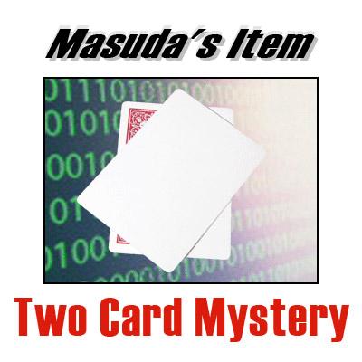 Two Card Mystery by Katsuya Masuda - Trick