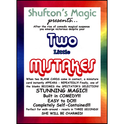 Two Little Mistakes by Steve Shufton - Trick