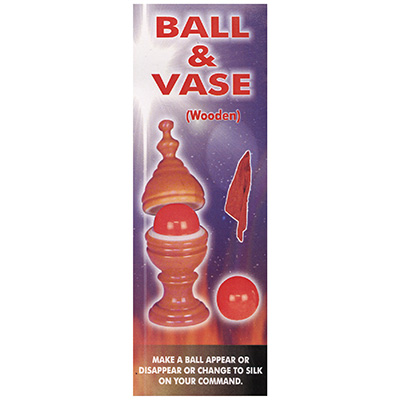 Ball & Vase (Wooden) by Uday - Trick