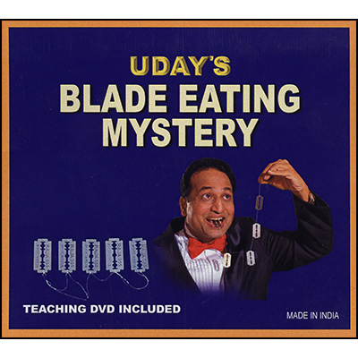 Blade Eating Mystery (With Dvd) by Uday - Trick