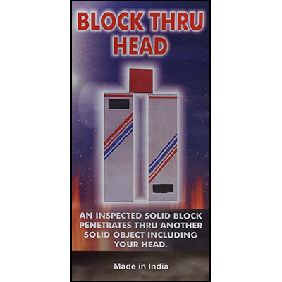 Block Thru Head by Uday -Trick