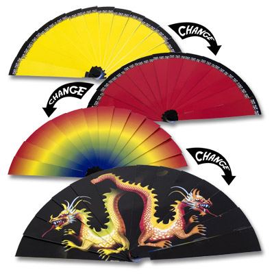 "Color Changing Dragon Fan 7""- Trick"