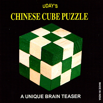 Chinese Cube Puzzle by Uday - Trick