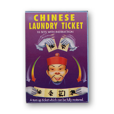 Chinese Laundry Ticket by Uday - Trick