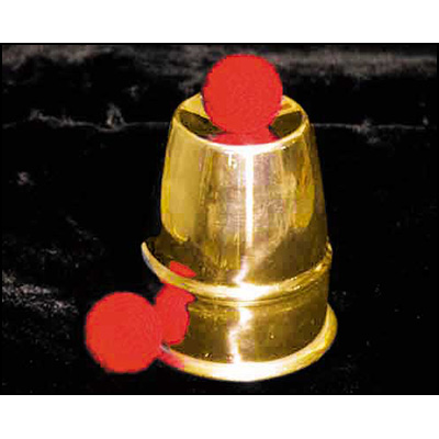 Chop Cups Brass by Uday - Trick