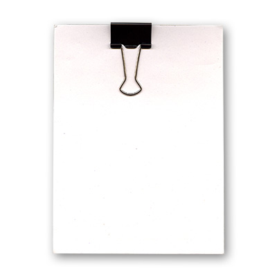 Clip Board (4 Inches X 5.5 Inches) by Uday - Trick