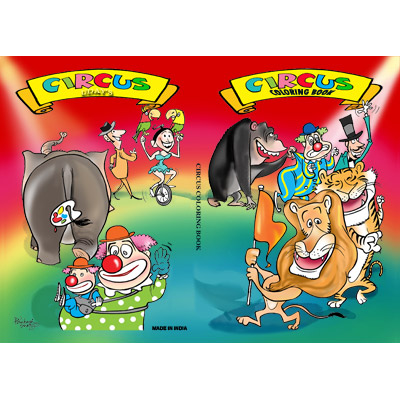 Micro Coloring Book (Circus)