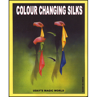 Color Changing Silk (China Silk) by Uday - Trick