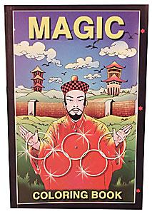 Mini Coloring Book (magician) Sizes  6 inch x9 inch