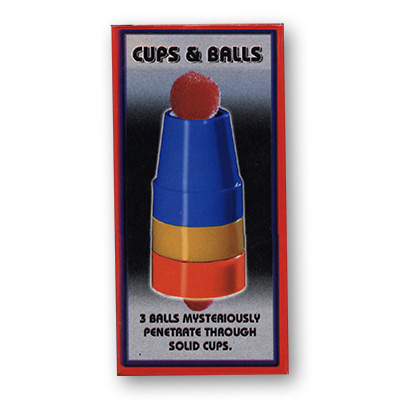 Cups & Balls - Plastic