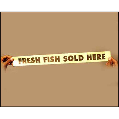Fresh Fish Sold Here by Uday - Trick