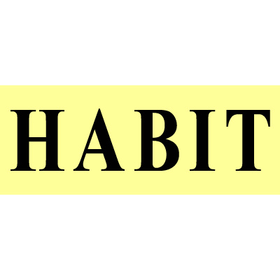 Habit Paper Tear # 10 - Uday