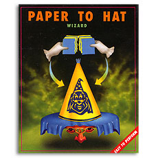 Paper To Hat (Wizard) by Uday - Trick