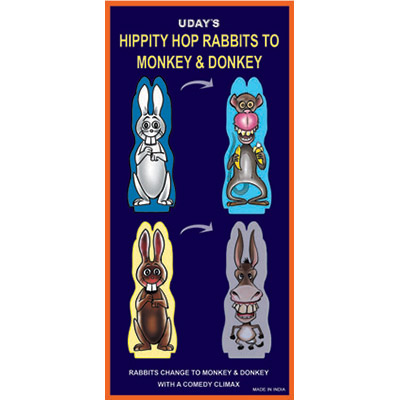 Hippity Hop Rabbits to Monkey & Donkey by Uday -Trick