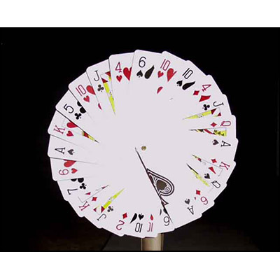 Jumbo Card Fan by Uday - Trick