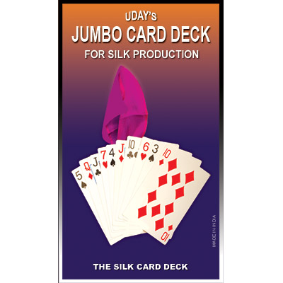 Jumbo Card Deck for Silk Production by Uday - Trick