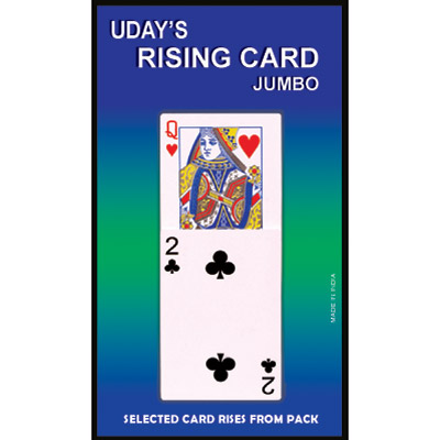 Jumbo Rising Card by Uday - Trick